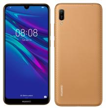 Смартфон Huawei Y6 2019, (Mrd-L21A), 32GB, Amber Brown гръб с еко кожа (6901443279418)