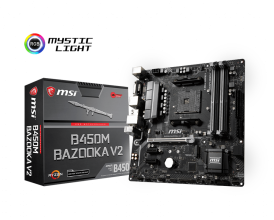 Дънн платка MSI B450M BAZOOKA V2 /AM4