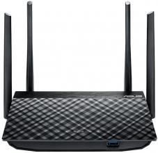 Безжичен рутер ASUS RT-AC1300G PLUS AC1300 Dual Band WiFi Router with MU-MIMO