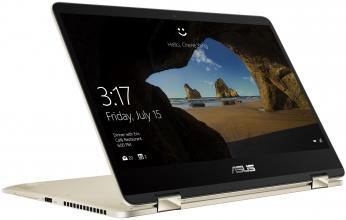 "ASUS ZenBook Flip14 UX461FN-E1035T | 90NB0K22-M01630 | 14"" FHD Touch, i5-8265U, 8GB RAM, 256GB SSD, GeForce MX150, Win 10"