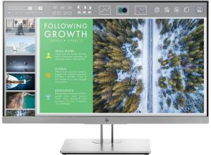 "HP EliteDisplay E243 23.8"" IPS LED, FHD (1920x1080), 5 ms, 60 Hz, Сребрист/Черен (1FH47AA)"