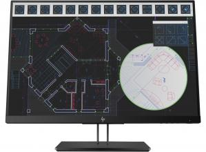 "Монитор 24"" HP Z24i G2 IPS LED, WUXGA (1920x1200), Черен 1JS08A4"