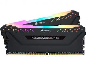 Памет Corsair VENGEANCE® RGB PRO 16GB (2 x 8GB) DDR4 DRAM 4266MHz C19 Memory Kit — Black