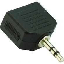 VCom Адаптер Adapter 3.5mm Stereo M / 2x 3.5mm ST F - CA511