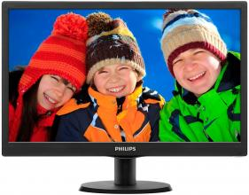 "Philips 203V5LSB26/10 20"" LED 1600 x 900, Черен"