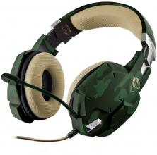 Геймърски слушалки TRUST GXT 322C Carus Gaming Jungle Camo 20865