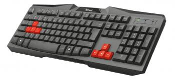 Геймърска клавиатура TRUST Ziva (21954) Gaming Keyboard