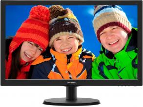 "Philips 223V5LSB 21.5"" FHD (1920x1080) LED, Черен"