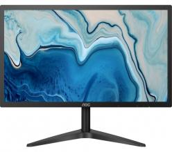 "Full HD Монитор 21.5"" AOC 22B1HS, IPS LED, 5 ms, FHD (1920x1080), Черен"