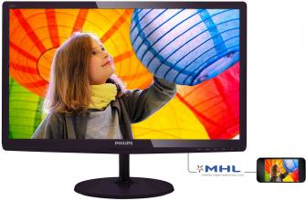 "Philips 247E6QDAD 23.6"" LED IPS, FullHD 1920x1080"