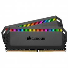 Памет Corsair DOMINATOR® PLATINUM RGB 16GB (2 x 8GB) DDR4 DRAM 3600MHz C18 Memory Kit