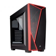 Компютърна кутия Corsair Carbide Series™ SPEC-04 Mid-Tower Gaming Case — Black/Red