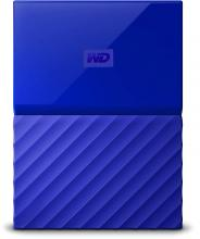 Външен диск Western Digital My Passport 1TB USB 3.0 (WDBYNN0010BBL)
