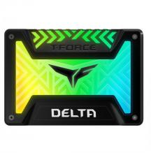 SSD диск Team Group T-Force Delta RGB 250GB Black
