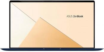 "UPGRADED Лаптоп ASUS ZenBook 14 UX433FN-A5021R (90NB0JQ1-M04370) 14"" FHD, i7-8565U, 16GB, 1TB SSD, nVidia MX150, Win 10 Pro, Син"