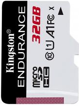 Kingston 32GB microSDHC Endurance Flash Memory Card, Class 10 (SDCE/32GB)