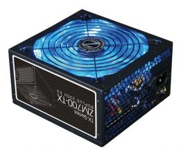 Захранващ блок Zalman 700W 80+ Blue Led Fan 140mm - ZM-700TX