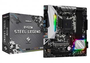 Дънна платка ASROCK B450M STEEL LEGEND