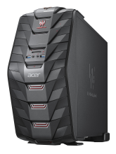 Настолен компютър Acer Predator G3-710 (Intel Core i7-7700 (3.6/4.20GHz, 8MB), 16GB DDR4, 512GB SSD, DVD+RW, NVIDIA GeForce GTX1060 6GB, 802.11ac) (DG.E08EX.040)