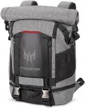 """Раница за лаптоп 15.6"""" Acer Predator Gaming Rolltop Backpack NP.BAG1A.255 Сива"""