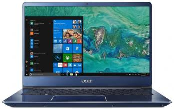 "Лаптоп Acer Aspire Swift 3 Ultrabook SF314-54-597V (NX.GYGEX.004) 14.0"" FHD IPS, i5-8250U, 8GB RAM, 256GB SSD, Win 10, Син"