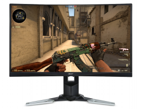 "Геймърски монитор Acer XZ271bmijpphzx, 27"" LED CURVED, FHD (1920 x 1080), 4ms, 144Hz, FreeSync (UM.HX1EE.019)"