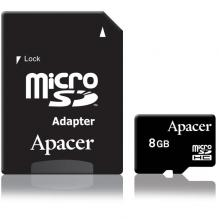 Карта памет Apacer 8GB Micro-Secure Digital HC Class 4