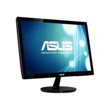 "Монитор Asus VS197DE, 18.5"" TN LED, HD (1366x768), Черен"