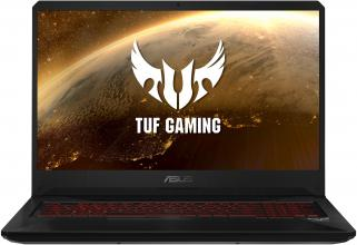 "UPGRADED ASUS TUF Gaming FX705GM-EW059 (90NR0122-M02340) 17.3"" FHD IPS, i7-8750H, 8GB RAM, 256GB SSD, 1TB HDD, GTX 1060 6GB, Черен"
