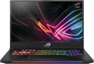 "UPGRADED ASUS ROG Strix SCAR II GL704GM-EV033 (90NR00N1-M02170) 17.3"" FHD 144Hz G-Sync, i7-8750H, 32GB RAM, 512GB SSD, 1TB HDD, GTX 1060 6GB, Сив"