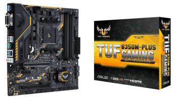 Дънна платка ASUS TUF B350M-Plus Gaming AM4