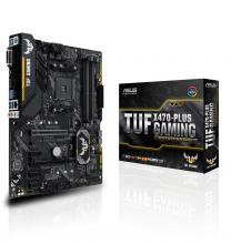 Дънна платка ASUS TUF X470-PLUS GAMING AM4