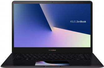 "ASUS Zenbook Pro 15 UX580GD-BO058R (90NB0I73-M01620) 15.6"" FHD IPS Touch 100% sRGB, ScreenPad, i7-8750H, 8GB RAM, 256GB SSD, GTX 1050, Win 10 Pro, Син"