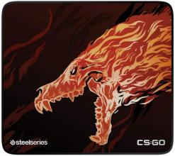 Геймърски пад SteelSeries, QCK+ Limited CS:GO Howl Edition (63403)