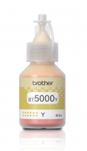 Оригинално мастило Brother BT-5000 Yellow Ink Bottle за Brother DCP-T310, DCP-T510W, DCP-T710W, MFC-T810W