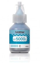 Оригинално мастило Brother BT-5000 Cyan Ink Bottle за серии Brother DCP-T310, DCP-T510W, DCP-T710W, MFC-T810W