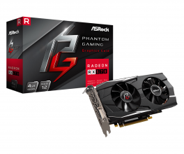 Видео карта ASROCK RX 570 4GB GDDR5 Phantom Gaming D