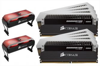 Corsair Dominator Platinum 128GB DDR4 3200 MHz (CMD128GX4M8B3200C16)