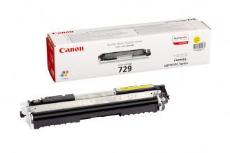 Оригинална тонер касета Canon CRG-729Y Yellow (CR4367B002AA)