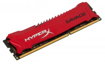 Kingston 8GB DDR3 1600MHz CL9 HyperX Savage Red