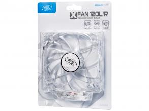 Вентилатор DeepCool XFan 120mm Red LED (DP-FLED-XF120LR)