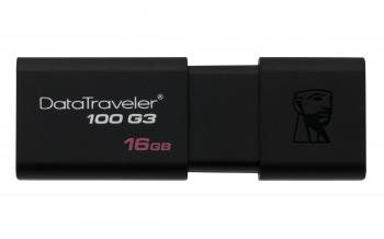 USB флаш памет KINGSTON, 16GB DataTraveler 100 G3 USB 3.0