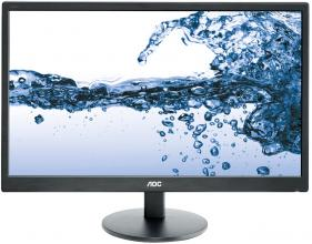 "Монитор 21.5"" AOC E2270SWN LED Full HD 1920 x 1080, Черен"