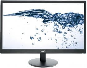"Монитор 24"" AOC E2470SWDA LED, Full HD 1920 x 1080, Черен"