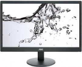 "Монитор AOC E970SWN, 18.5"" LED HD (1366x768), Черен"