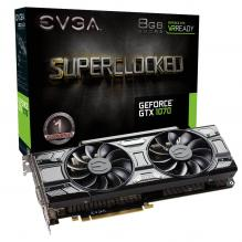 Видео карта EVGA GeForce GTX 1070 SC GAMING ACX 3.0 Black Edition 8GB GDDR5 (EVGA-VC-GTX1070-SC-BE-8GB)