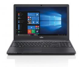 "UPGRADED Лаптоп Fujitsu Lifebook Е558, 15.6"" HD, i3-7130U, 12GB, 512GB SSD, 1TB HDD, Черен"