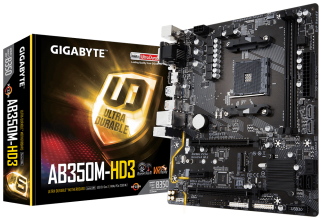 Дънна платка Gigabyte AB350M-HD3 AM4