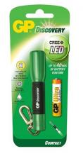 Фенер GP LCE202 DISCOVERY CREE LED, Зелен (GP-F-GPLCE202-GREEN)