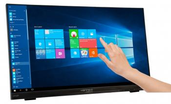"Монитор HANNSPREE HT225HPB, 21.5"", Full HD (1920 x 1080), Touch-screen, Черен"